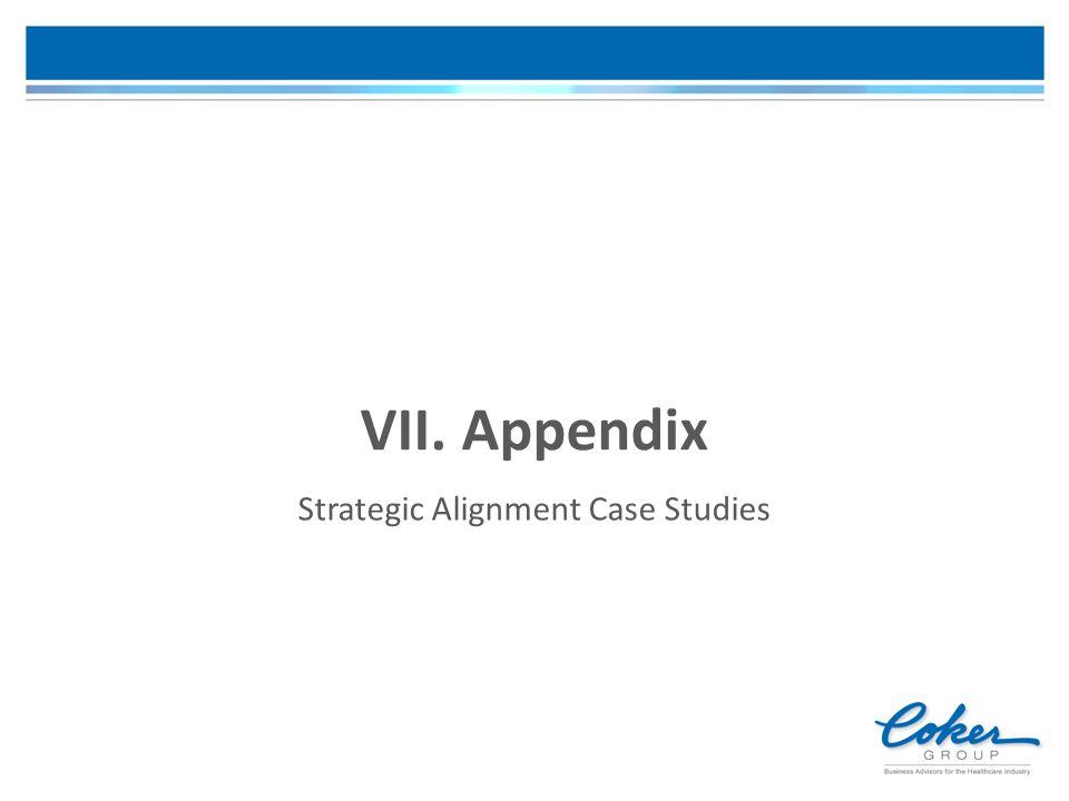 VII. Appendix Strategic Alignment Case Studies