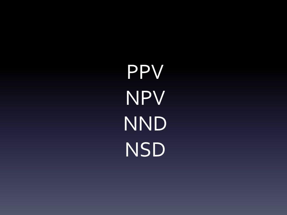 PPV NPV NND NSD