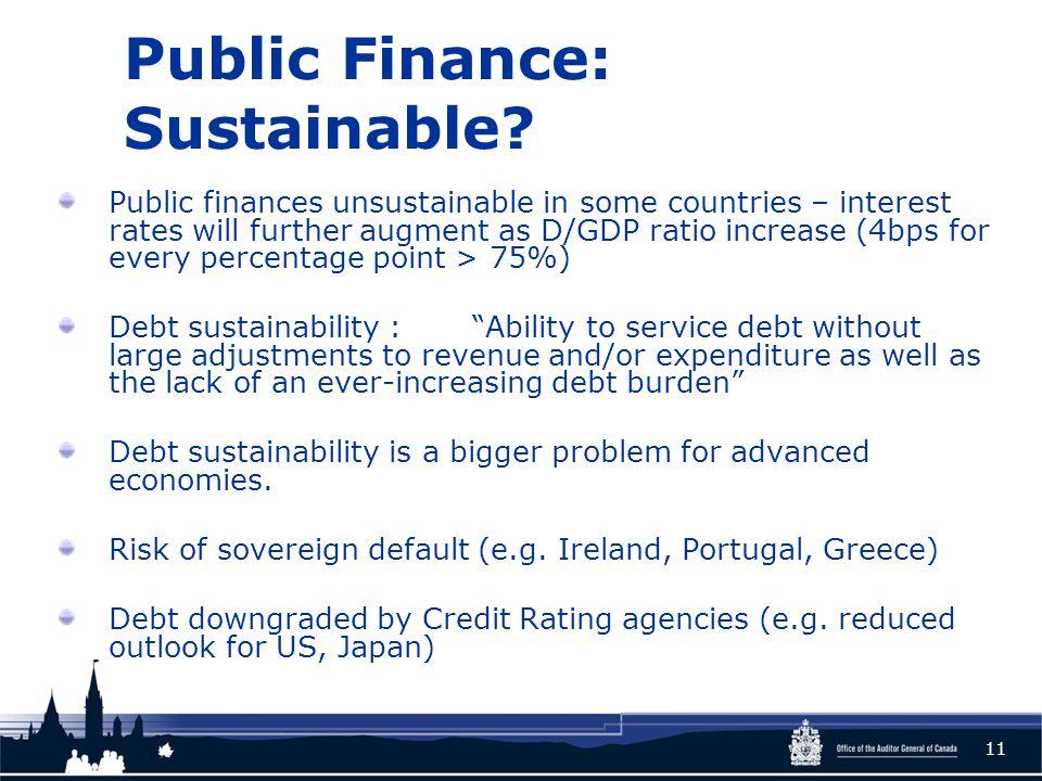Public Finance: Sustainable.