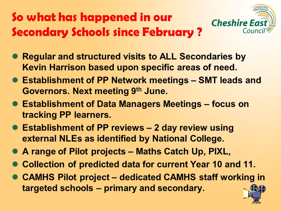So what has happened in our Secondary Schools since February .