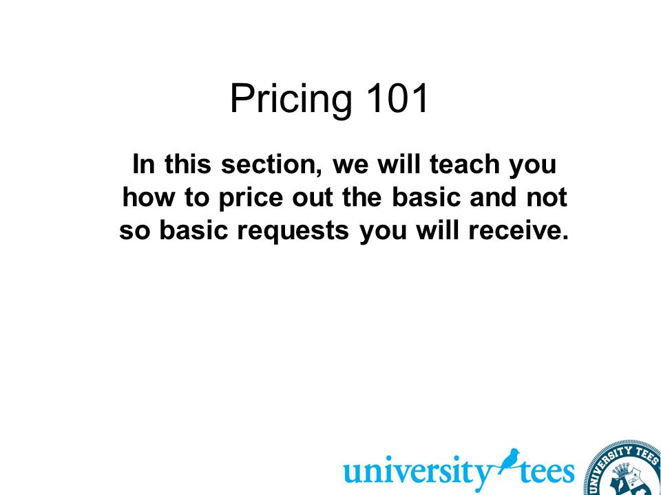 College Licensing - This only applies if we are licensed at your school.