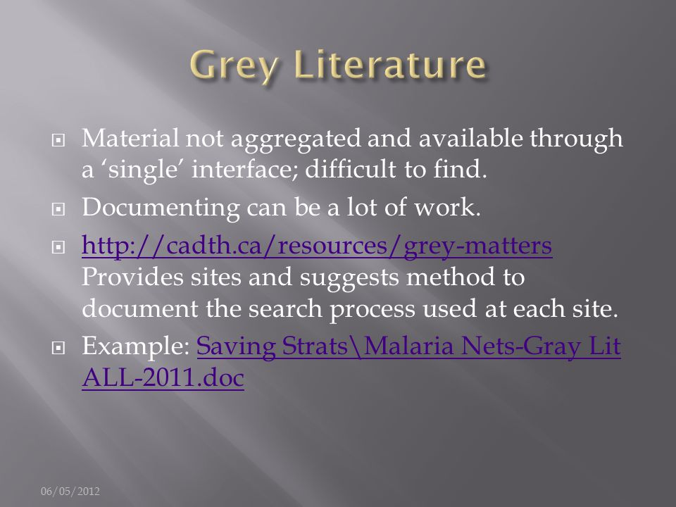  Material not aggregated and available through a 'single' interface; difficult to find.