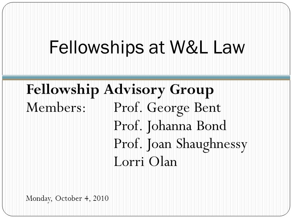 What is a Post-Graduate Fellowship.