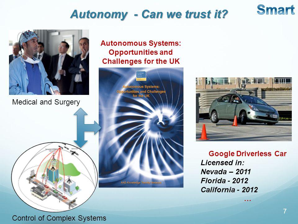 7 Autonomy - Can we trust it.