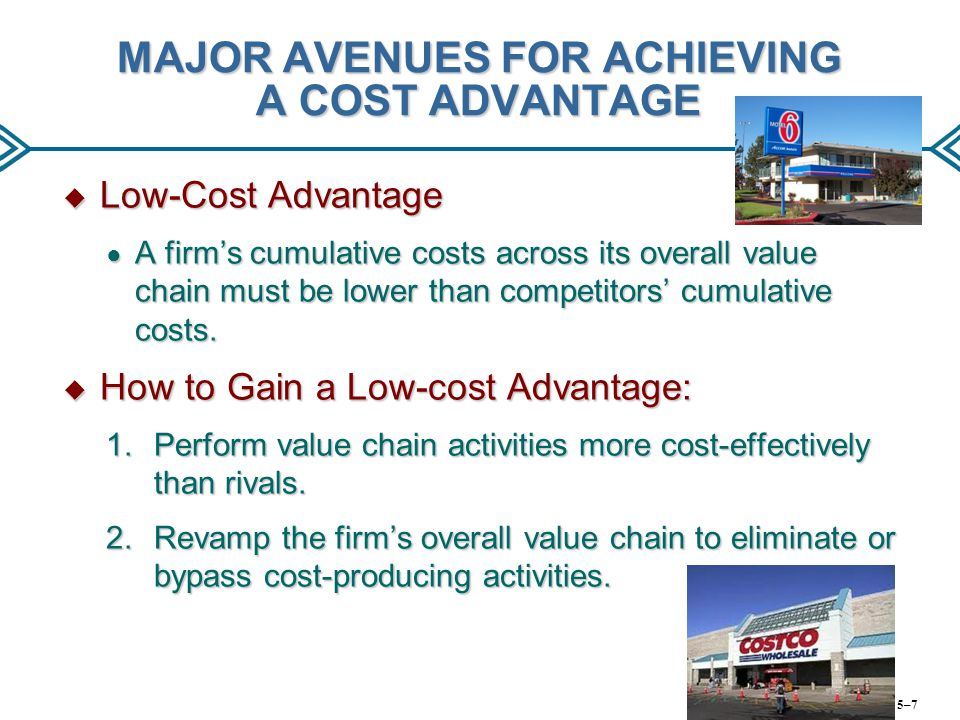 WHEN A BEST-COST PROVIDER STRATEGY WORKS BEST  Product differentiation is the market norm.