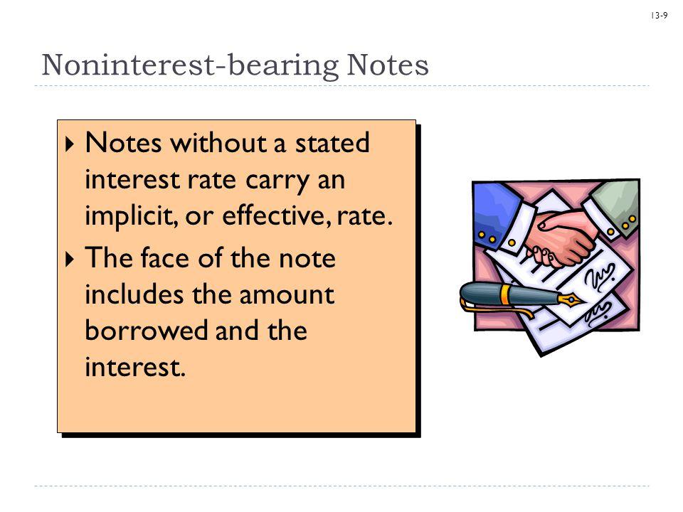 13-10 Noninterest-bearing Notes On May 1, Batter-Up Inc.
