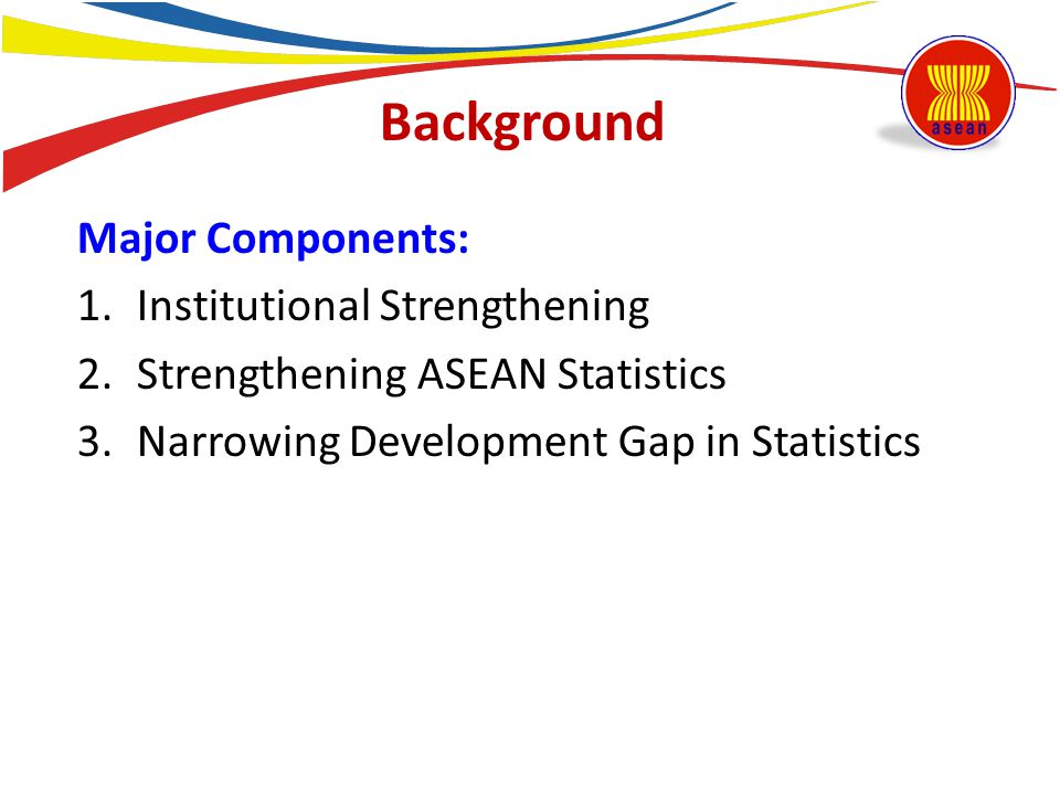 2.Partnership: to be built up, through the development of a user-producer consultation mechanism; 3.Role of the national statistical office (NSO): has yet to be recognized in some ASEAN Member States; Identified Challenges