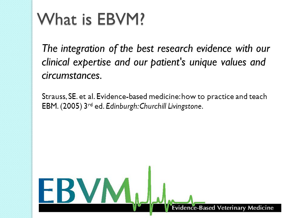 What is EBVM.