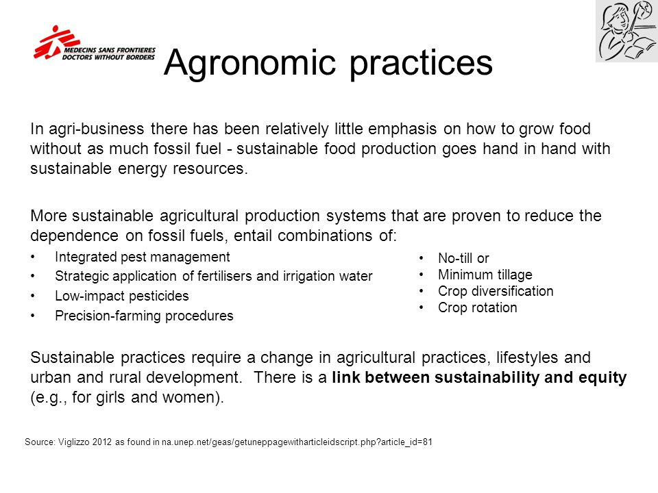 Agricultural terms Commercial Farming - the growing of crops / rearing of livestock to make a profit.