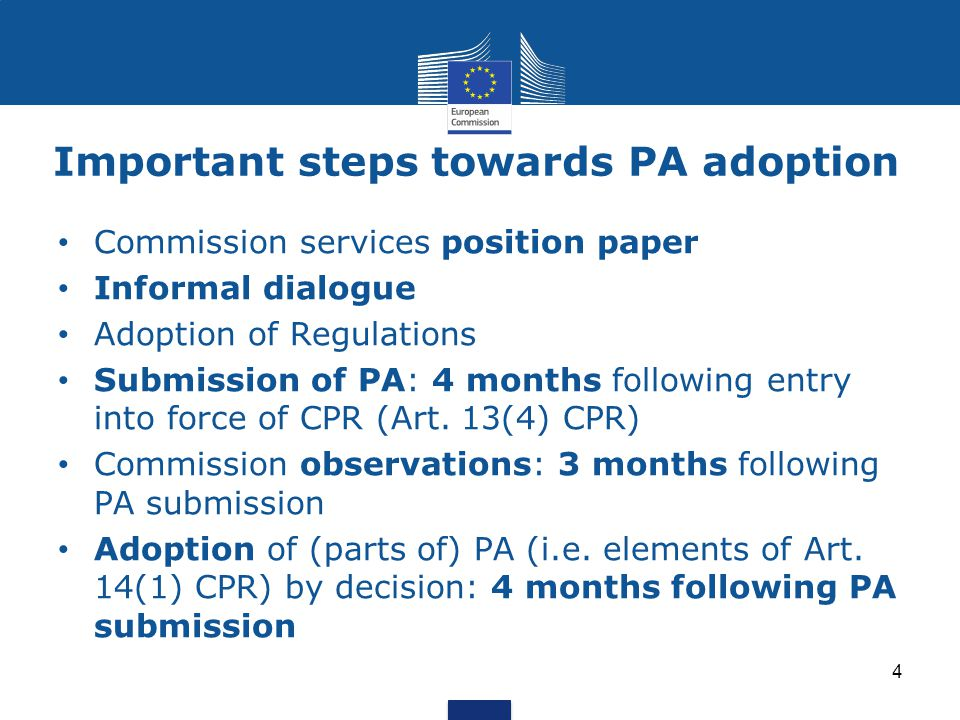 Structure of the draft OP template (2) 8.Authorities and bodies responsible for MCA - role of partners 9.Coordination 10.Ex-ante conditionalities 11.Reduction of the administrative burden for beneficiaries 12.Horizontal principles 13.