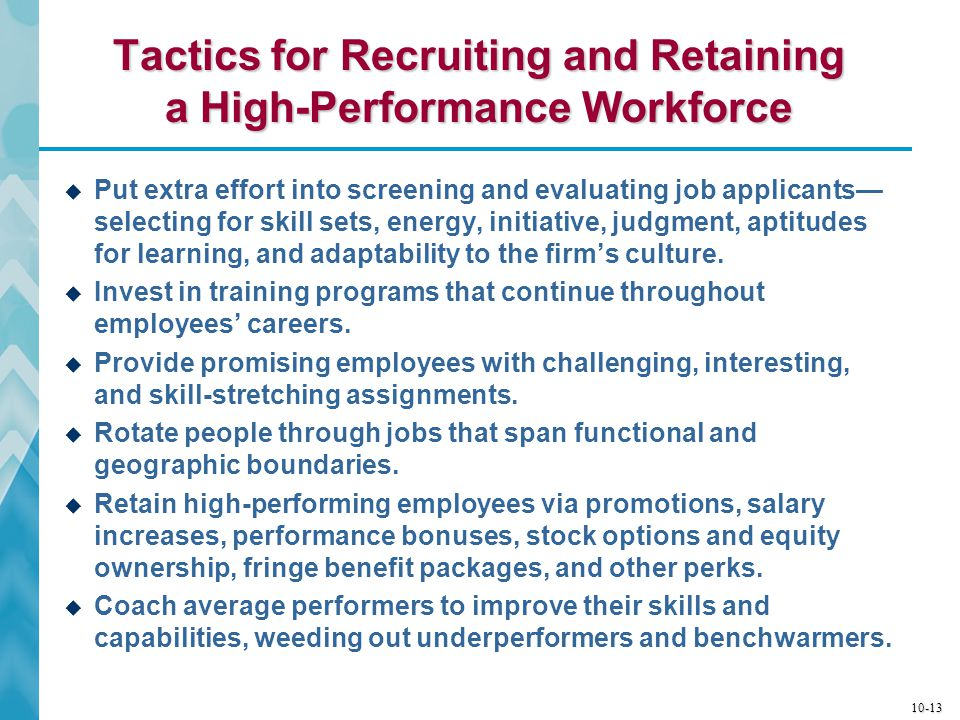 10-14 Building and Strengthening Core Competencies and Competitive Capabilities  A firm's core competencies and capabilities must continuously be deepened, broadened, upgraded, and replaced due to:  The need for better strategy execution  Changing or new strategic requirements  Evolving market conditions and customer expectations  Organization building requires deciding when and how to recalibrate competencies and capabilities.