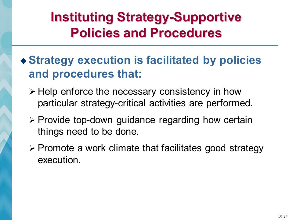 10-25 When Do Policies and Procedures Become Excessive .