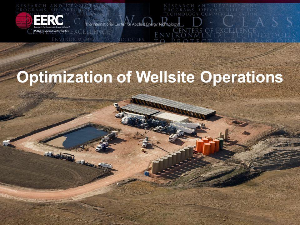Optimization of Wellsite Operations