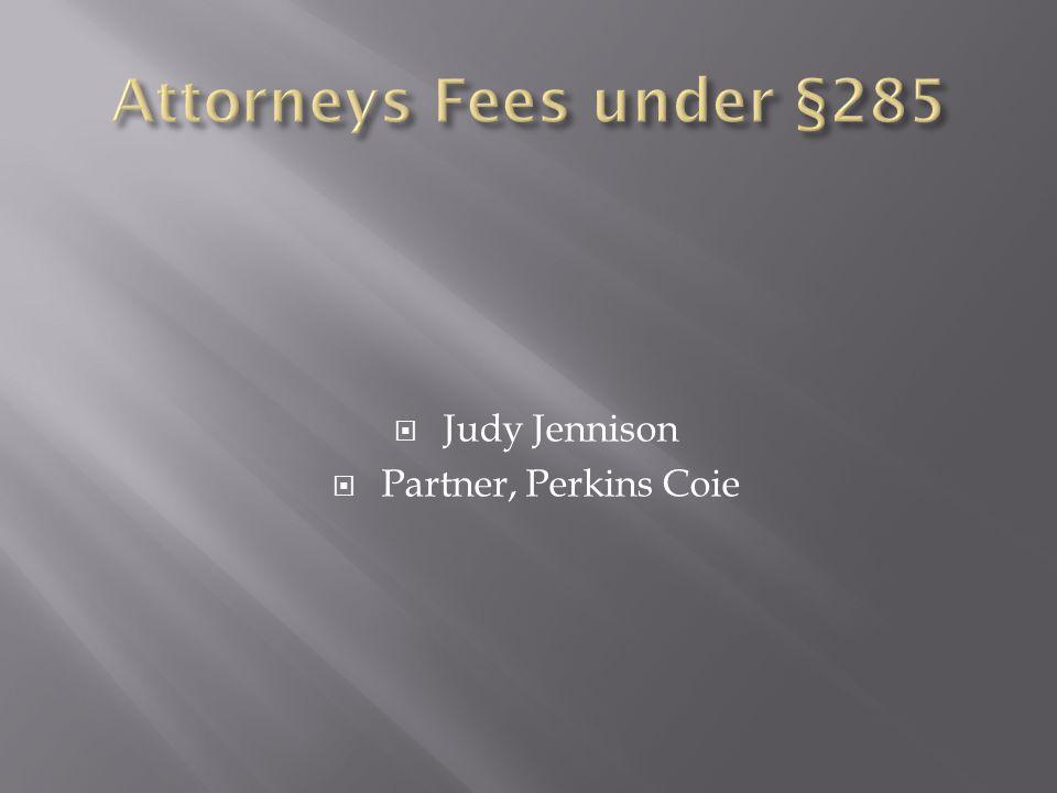  Judy Jennison  Partner, Perkins Coie