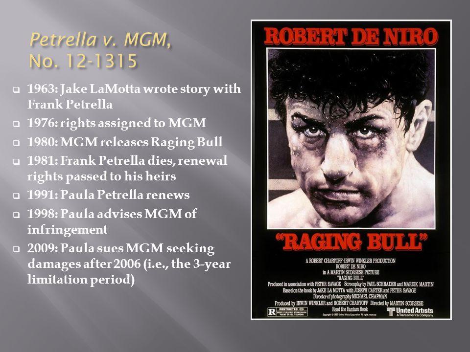 Petrella v. MGM, No.
