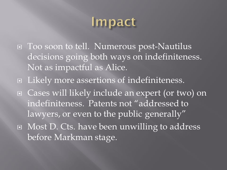  Therefore, since no one party infringes directly, there cannot be liability for inducement.