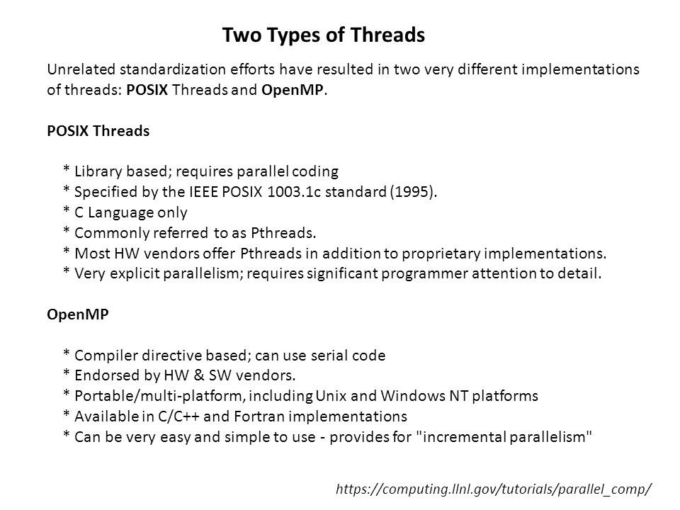 https://computing.llnl.gov/tutorials/parallel_comp/ 1.