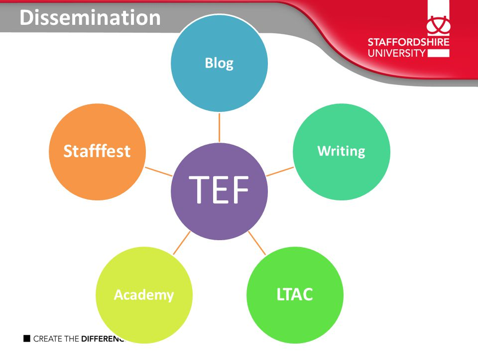 Dissemination TEF Blog Writing LTAC Academy Stafffest