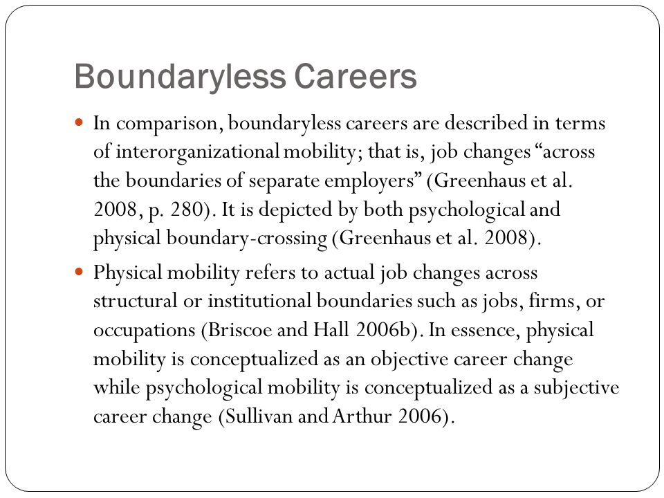 Social Career Support From a developmental-contextual perspective, the social context and relational aspects in career development must be considered to understand optimal person-in-context functioning (Vondracek et al., 2010).