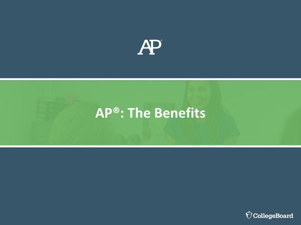 AP®: The Benefits