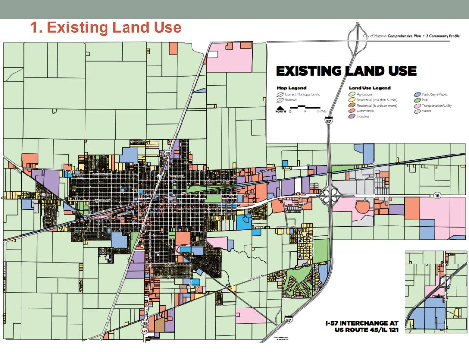 1. Existing Land Use