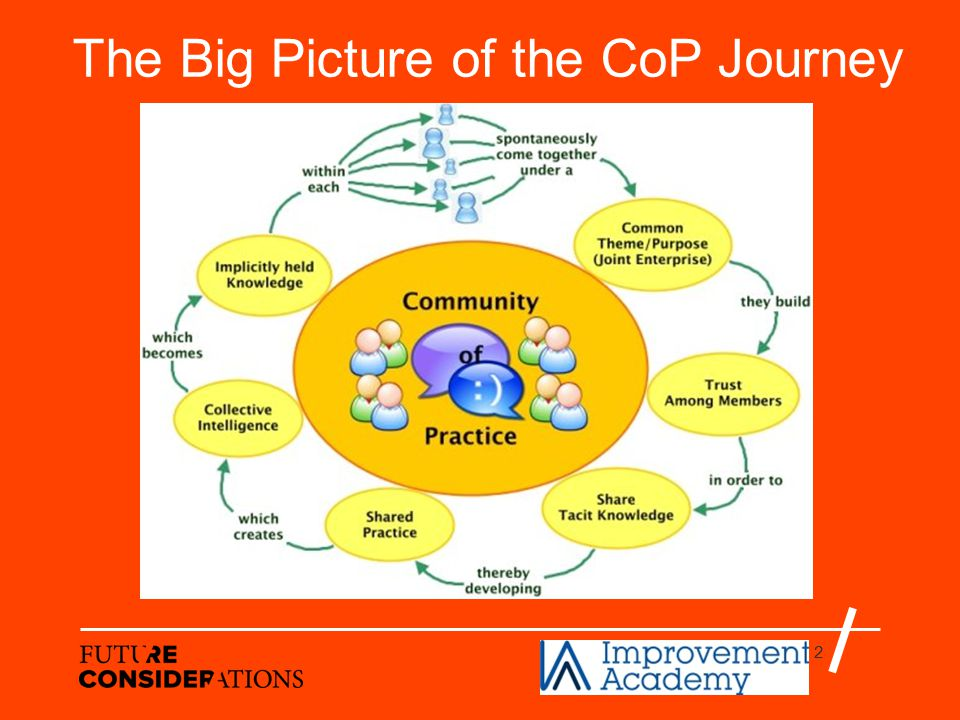 2 The Big Picture of the CoP Journey
