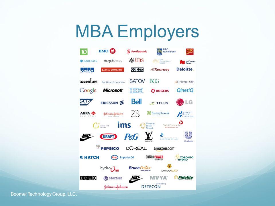 MBA Employers Boomer Technology Group, LLC.
