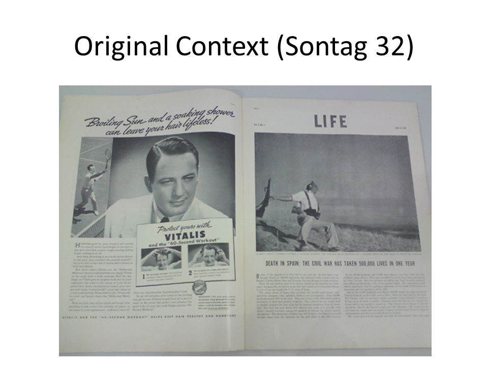 Original Context (Sontag 32)