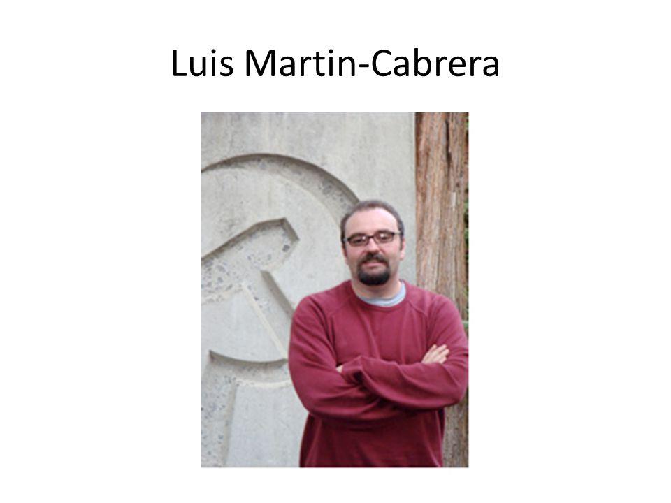 Luis Martin-Cabrera
