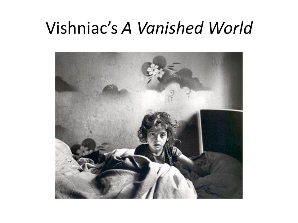 Vishniac's A Vanished World