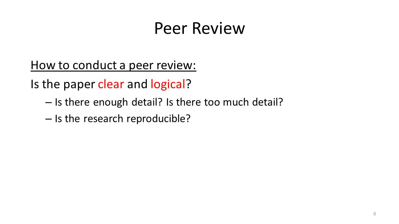 what is a peer review research paper Scholarly work will thoroughly cite all source materials used and is usually subject to peer review research - most of which is subject to review papers.