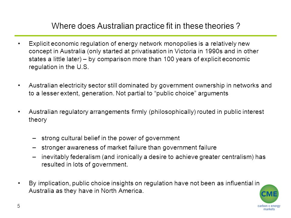 Where does Australian practice fit in these theories .