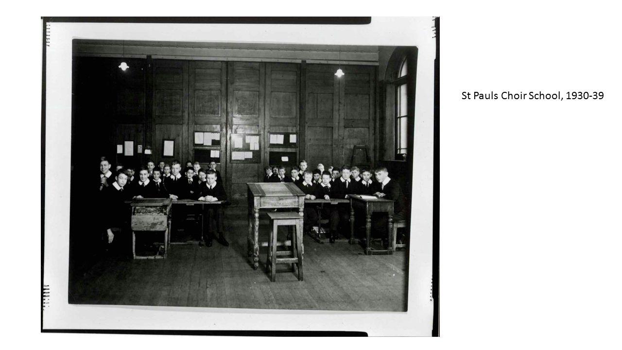 St Pauls Choir School, 1930-39