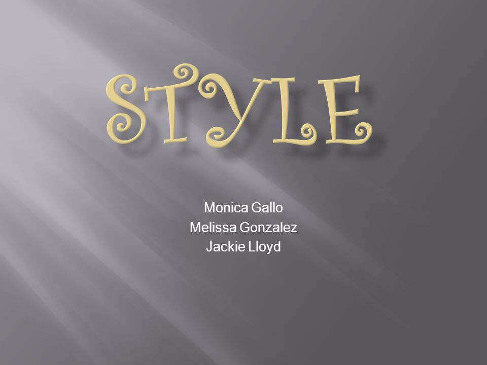 Monica Gallo Melissa Gonzalez Jackie Lloyd