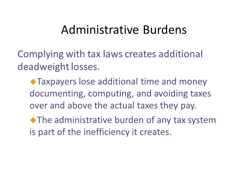 Taxes and Equity uHow should the burden of taxes be divided among the population.