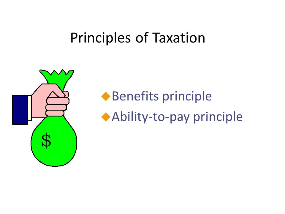 Proposed Benefits of the Flat Tax uBecause all taxpayers would be faced with the same marginal tax rate, the tax could be collected at the source of income.