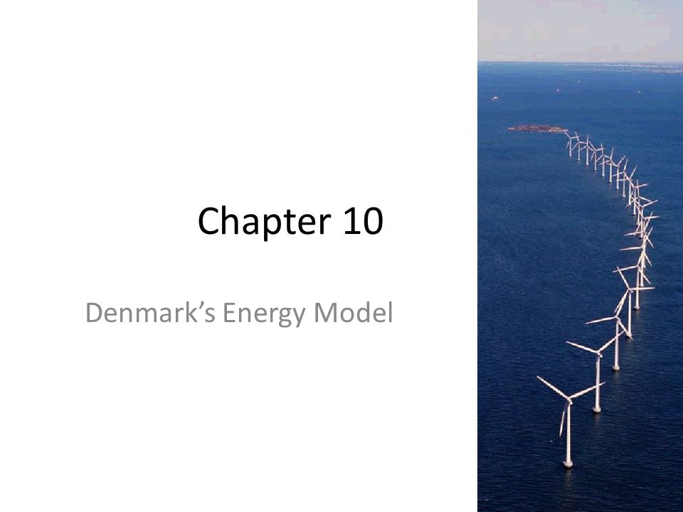 Chapter 10 Denmark's Energy Model