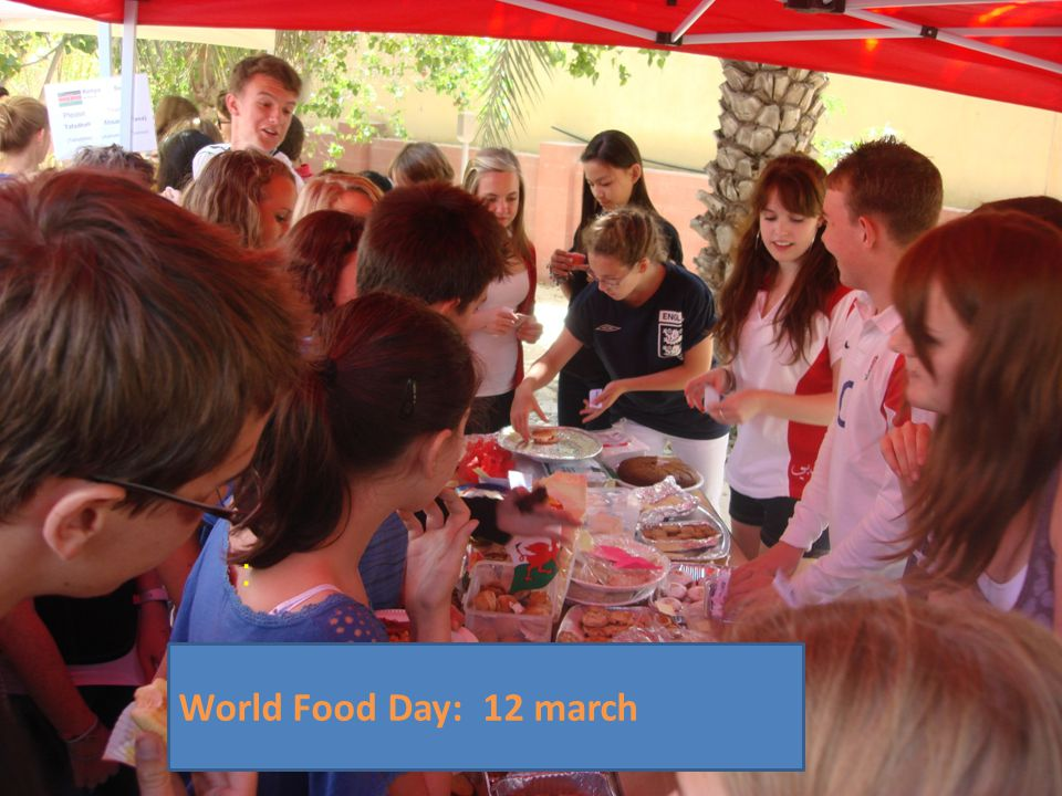 : World Food Day: 12 march