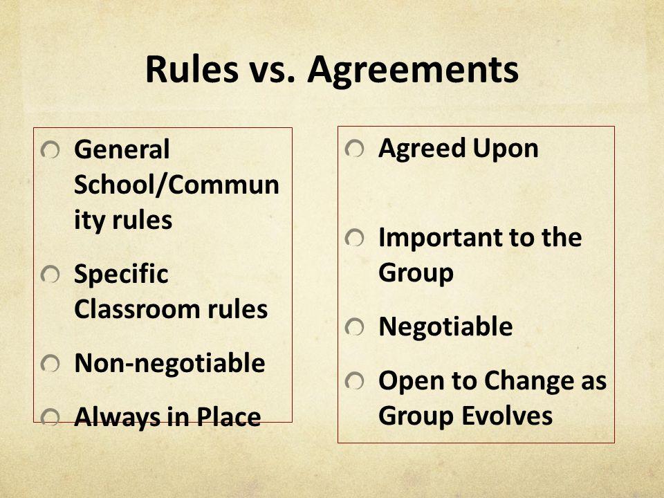 Rules vs.