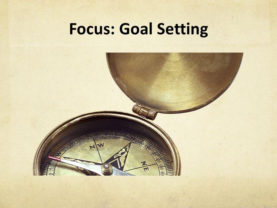 Focus: Goal Setting