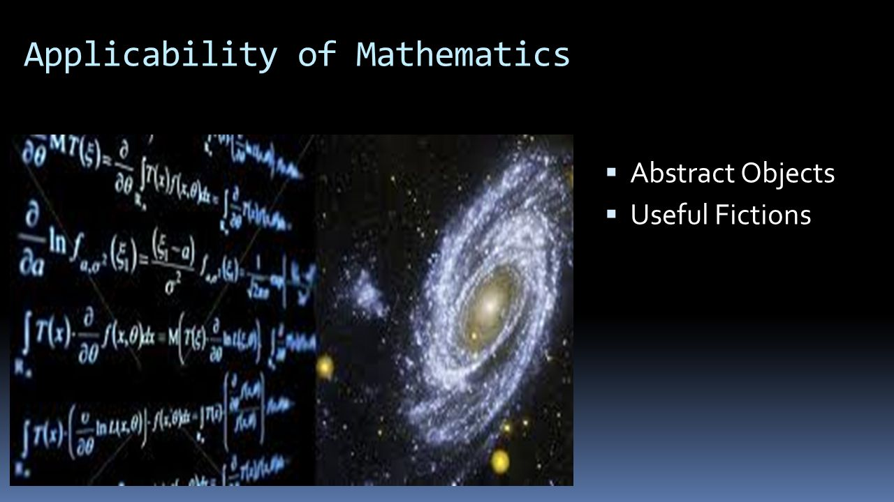 Applicability of Mathematics  Abstract Objects  Useful Fictions