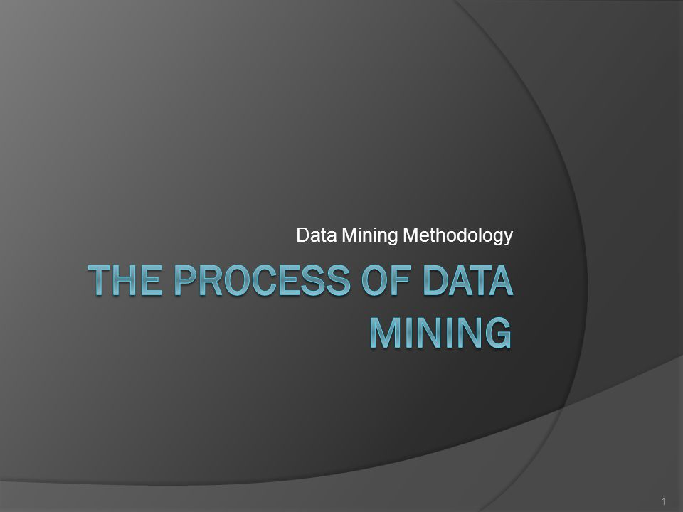 Steps in the Process: Fix Data  Many data mining methods don't need as much variable fixing as statistical methods  Types of fixing Missing values: many ways to fix Too many categorical values: reduce ○ Binning, etc.