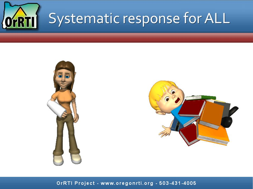 Systematic response for ALL