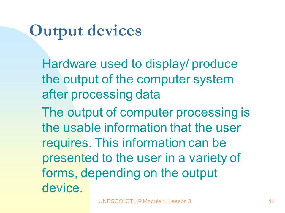 UNESCO ICTLIP Module 1.