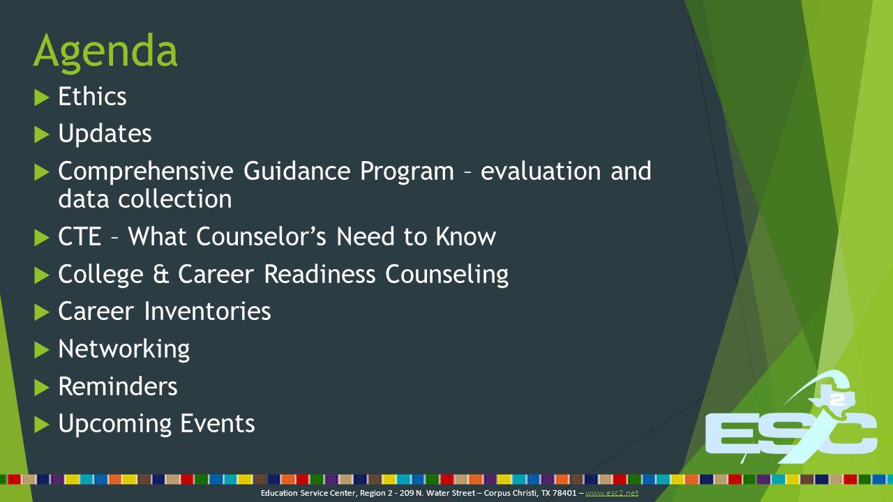 Ethics Education Service Center, Region 2 - 209 N.