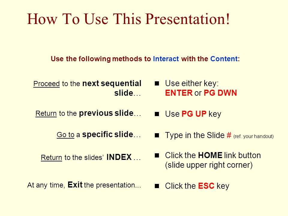 Click Here for HOW To Navigate This PresentationHere October 1, 2002EDER673-Activity#233 The Simplifying Conditions Method How to Design an SCM Method Phase I – Prepare for Analysis & Design Phase II – Identify the First Learning Episode Phase III – Identify the next Learning Episode
