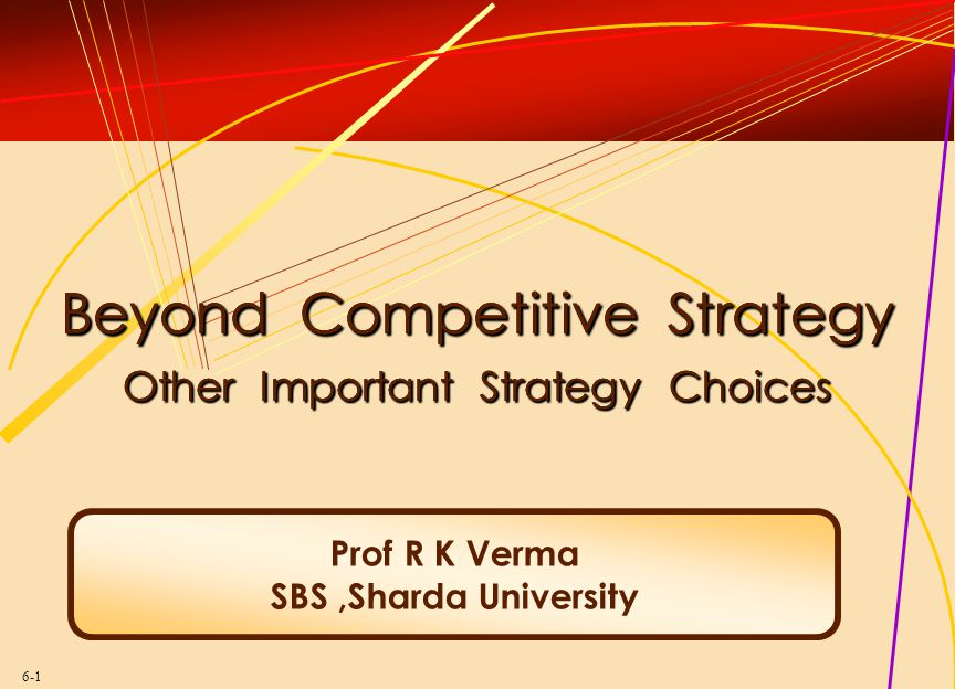 Successful business strategy is about actively shaping the game you play, not just playing the game you find. The Koran Strategies for taking hill won't necessarily hold it. John W.
