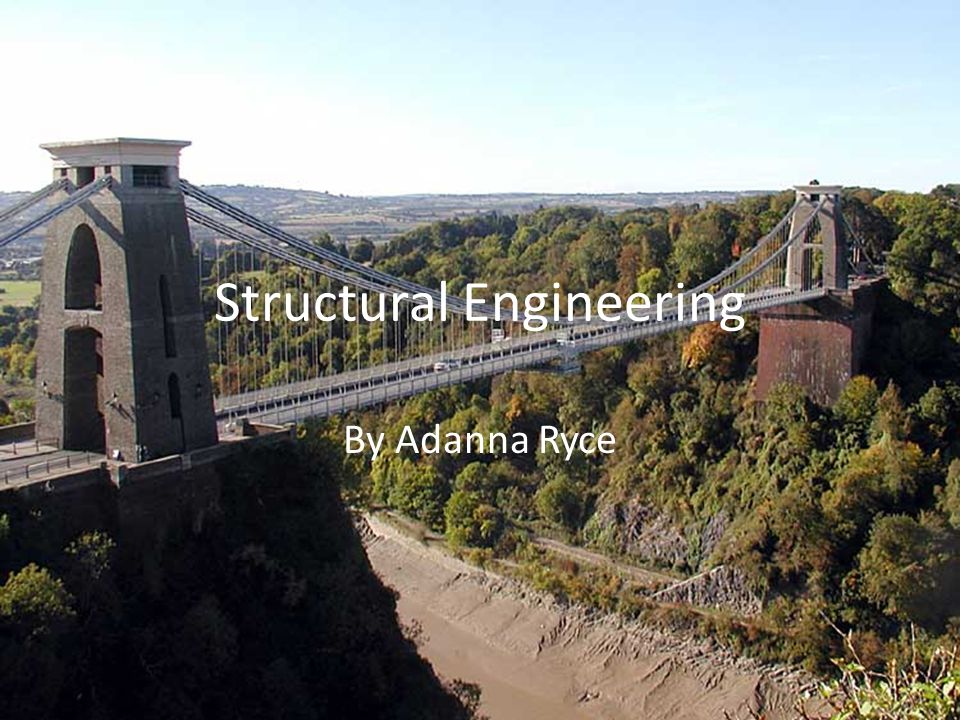 Structural Engineering By Adanna Ryce