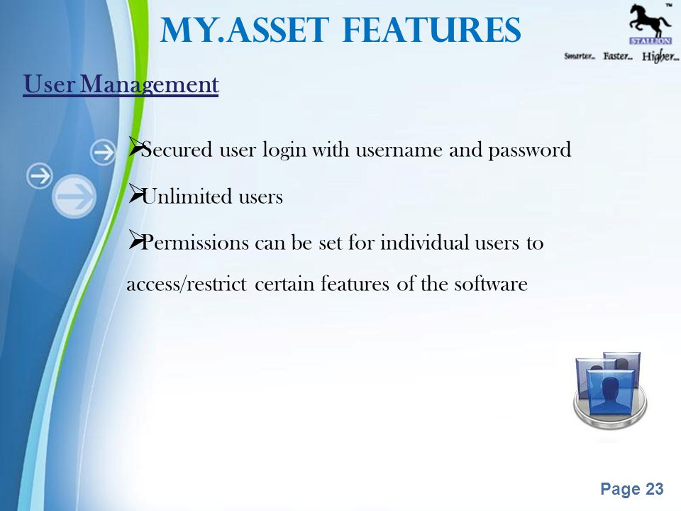 Powerpoint Templates Page 22  Asset Value is calculated on every Financial year starting.
