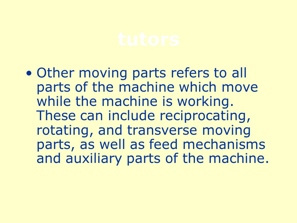 Power Transmission The power transmission apparatus is all components of the mechanical system which transmit energy to the part of the machine performing the work.